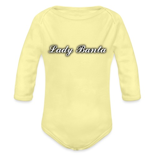 lady banta women - Organic Longsleeve Baby Bodysuit