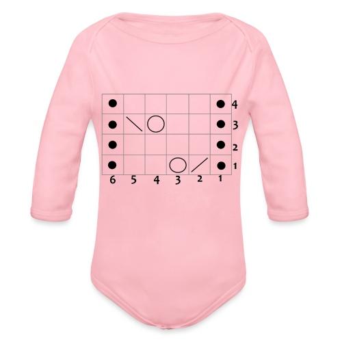 My Lace- - Organic Longsleeve Baby Bodysuit