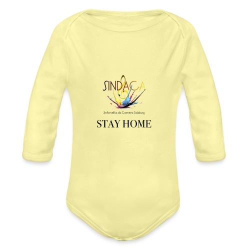 stay home03 - Baby Bio-Langarm-Body