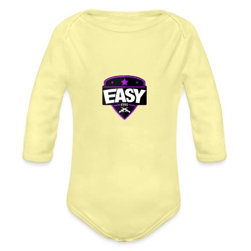 Team EasyFive T-paita - Vauvan pitkähihainen luomu-body