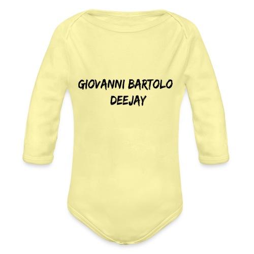 Giovanni Bartolo DJ - Body ecologico per neonato a manica lunga