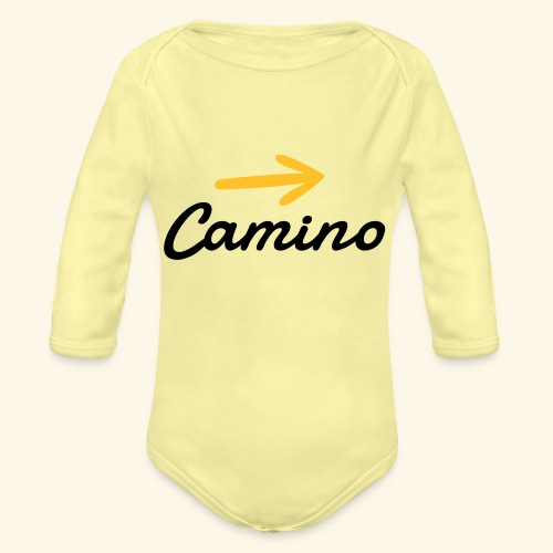 Camino, Follow the way - Body orgánico de manga larga para bebé