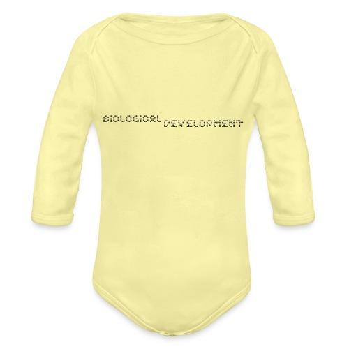 bio dev - Organic Longsleeve Baby Bodysuit