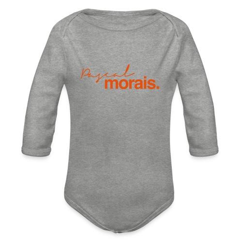 Pascal Morais Logo - Organic Longsleeve Baby Bodysuit