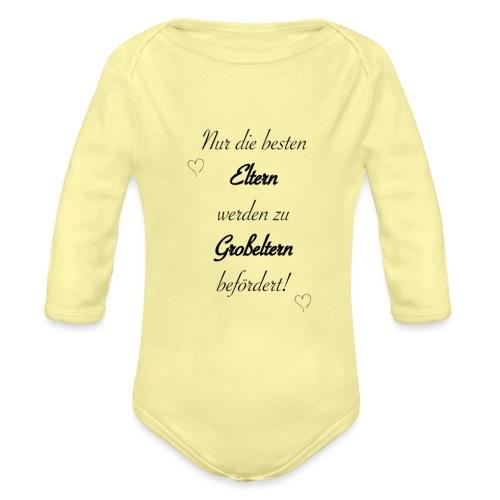 Großeltern - Baby Bio-Langarm-Body