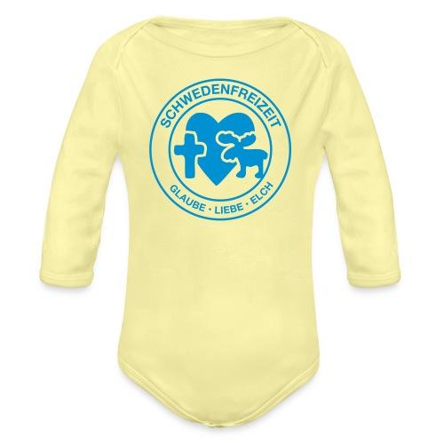 Schwedenfreizeit Logo - Baby Bio-Langarm-Body