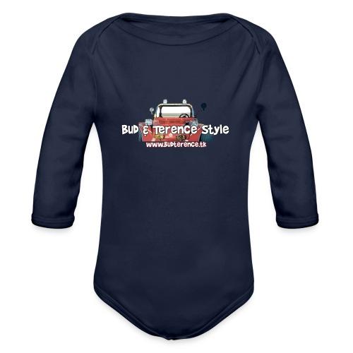 Bud & Terence Style - Body ecologico per neonato a manica lunga