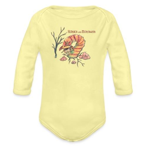 Stoneworm - Baby Bio-Langarm-Body