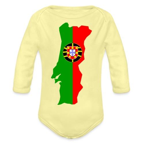 Portugal - Baby bio-rompertje met lange mouwen