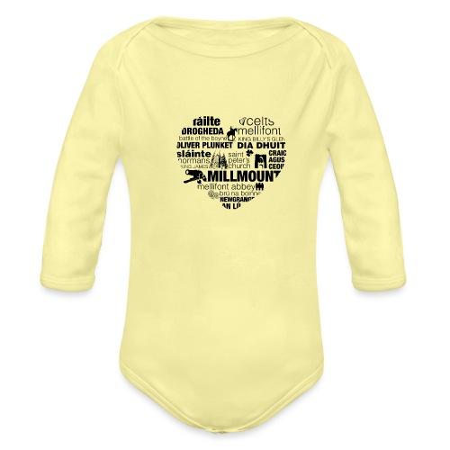 Legend_-_Drogheda2 - Organic Longsleeve Baby Bodysuit