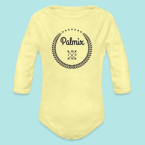 Palmix cup - Organic Longsleeve Baby Bodysuit
