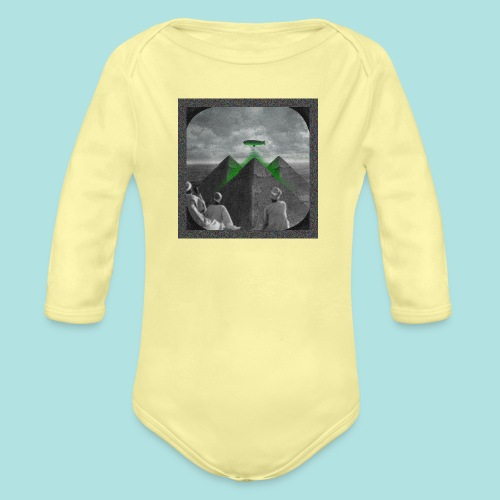 Invaders_sized4t-shirt - Organic Longsleeve Baby Bodysuit