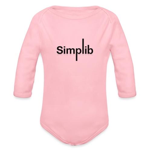 Logo-Simplib-ok - Ekologiczne body niemowlęce z długim rękawem
