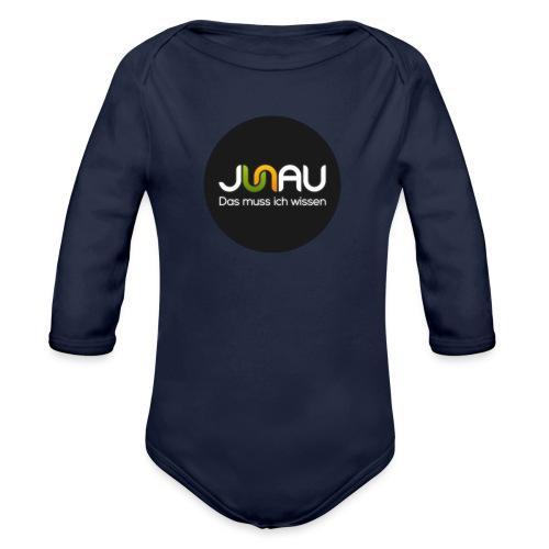 JUNAU - Das muss ich Wissen (rund) - Baby Bio-Langarm-Body