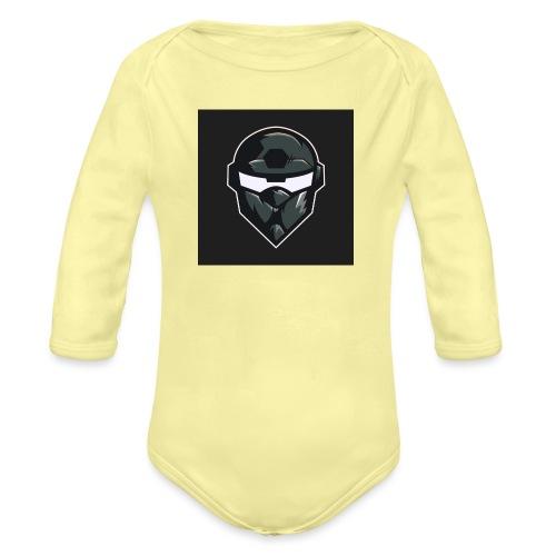 LogoMain2 - Langærmet babybody, økologisk bomuld