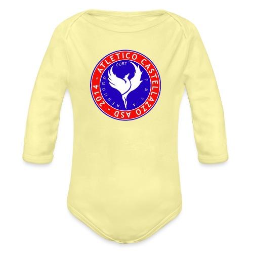 Atletico Castellazzo Logo Ufficiale - Body ecologico per neonato a manica lunga