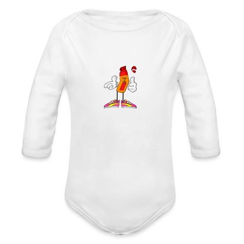 Drip N Drop - Body ecologico per neonato a manica lunga