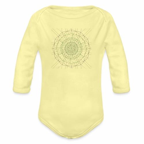 Mandala - Vauvan pitkähihainen luomu-body