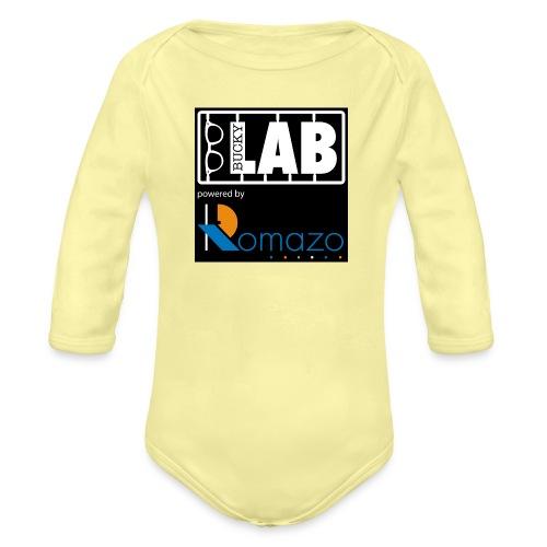 tshirt 2 romazo kopie - Organic Longsleeve Baby Bodysuit