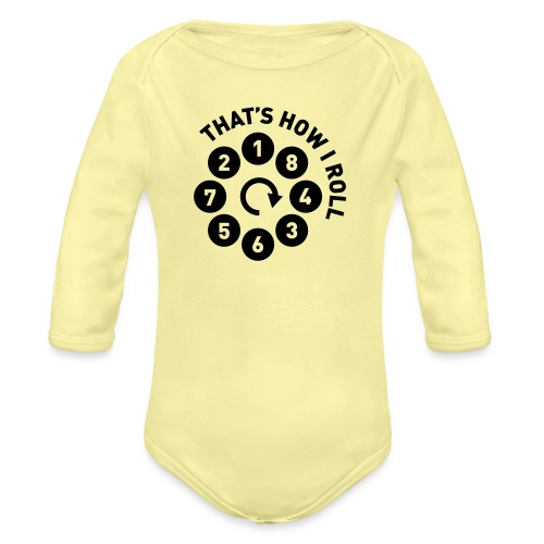 Rolling the V8 way - Autonaut.com - Organic Longsleeve Baby Bodysuit
