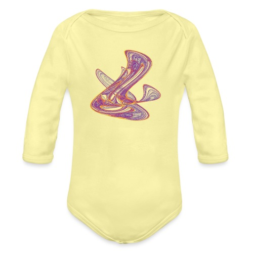 Why is the weather so inaccurate: capricious designs - Organic Longsleeve Baby Bodysuit