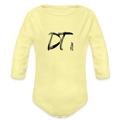 DTWear Limited Small Logo - Baby bio-rompertje met lange mouwen