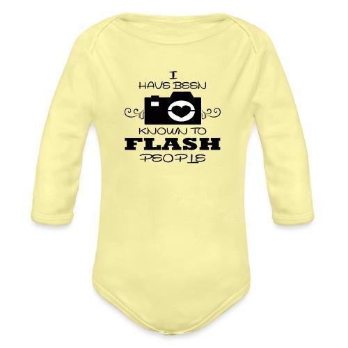 Photographer - Organic Longsleeve Baby Bodysuit