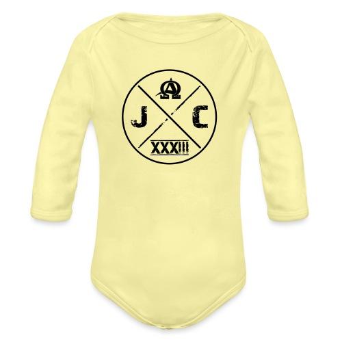 JC 33 - Baby Bio-Langarm-Body
