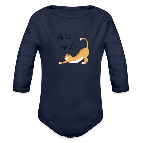 Meowmaste - Baby Bio-Langarm-Body
