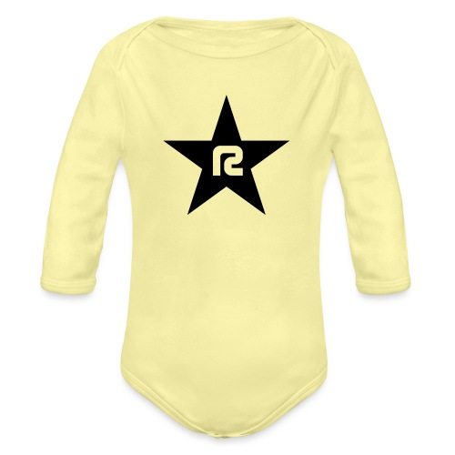 R STAR - Baby Bio-Langarm-Body