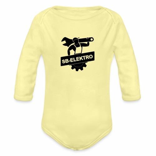 SB transp 1000 png - Langærmet babybody, økologisk bomuld