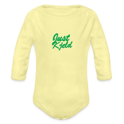 JustKjeld - Baby bio-rompertje met lange mouwen