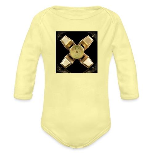 Spinneri paita - Vauvan pitkähihainen luomu-body