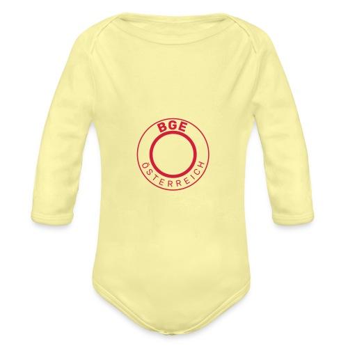 BGE-Österreich - Baby Bio-Langarm-Body