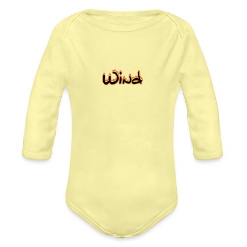 ||Wind|| - Organic Longsleeve Baby Bodysuit