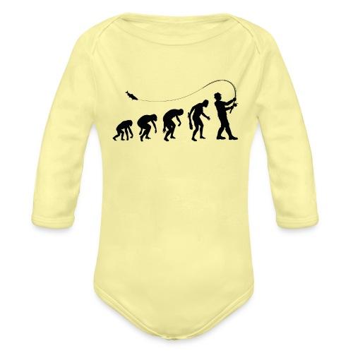Evolution of fischers - Baby Bio-Langarm-Body