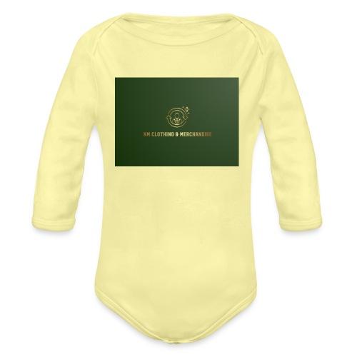 NM Clothing & Merchandise - Langærmet babybody, økologisk bomuld