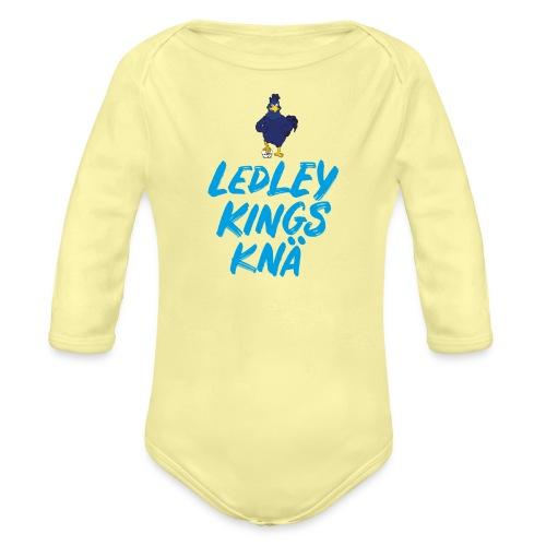 LKK logo scribble - Ekologisk långärmad babybody