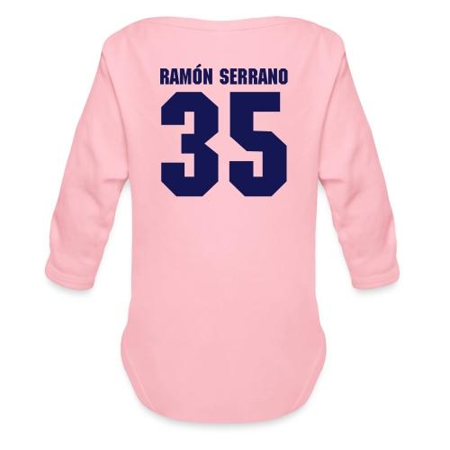 Ramon Serrano (fronte n. 3) - Body ecologico per neonato a manica lunga