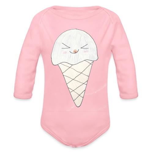 Kids for Kids: Icream 2 - Baby Bio-Langarm-Body