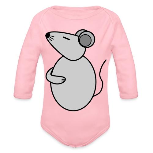 Rat - just Cool - c - Baby Bio-Langarm-Body