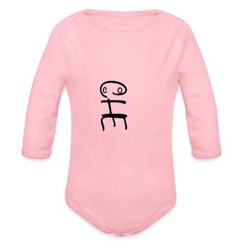 Coche - Body ecologico per neonato a manica lunga