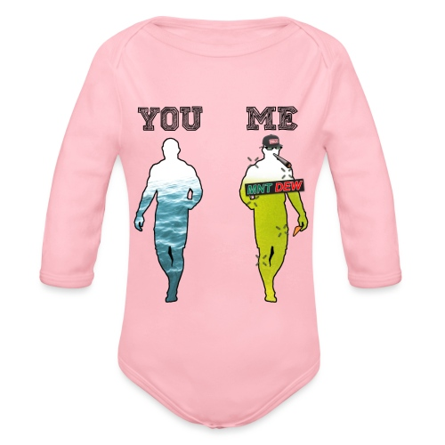 70% MLG - Økologisk langermet baby-body