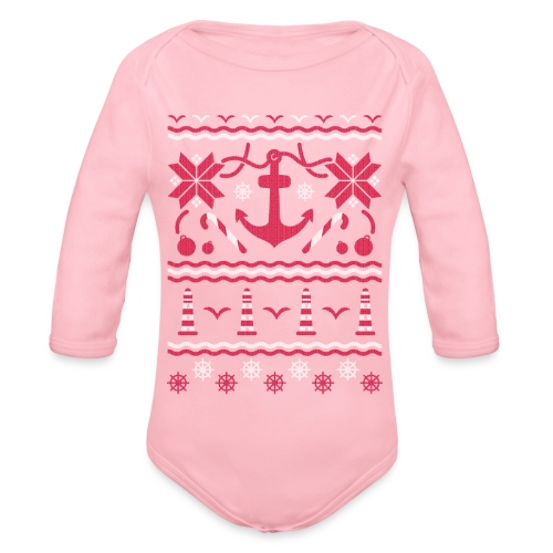 Baltic Christmas - Baby Bio-Langarm-Body