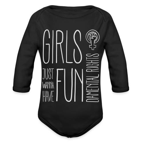 Girls just wanna have fundamental rights - Baby Bio-Langarm-Body