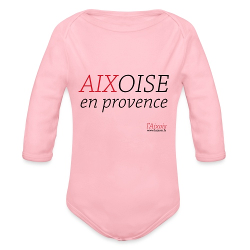 AIXOISE EN PROVENCE - Body Bébé bio manches longues
