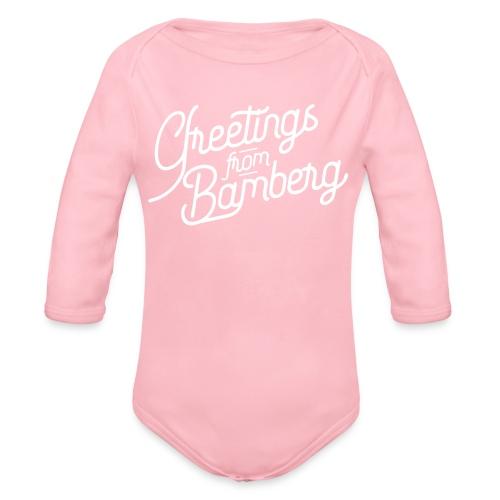 Greetings from Bamberg - Baby Bio-Langarm-Body
