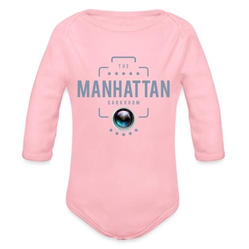 MANHATTAN DARKROOM VINTAGE - Body Bébé bio manches longues