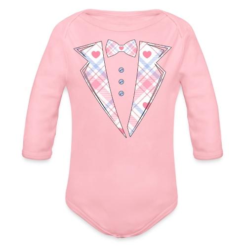 bébé costume rose Cadeau - Body Bébé bio manches longues