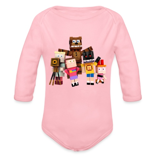 Withered Bonnie Productions - Meet The Gang - Organic Longsleeve Baby Bodysuit